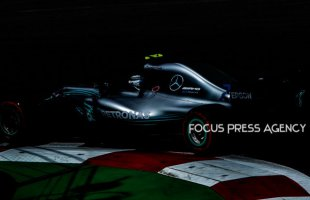 Lewis Hamilton of Great Britain and Mercedes Team driver goes during the first practice at Formula One Azerbaijan Grand Prix on April 27, 2018 in Baku, Azerbaijan.