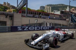 Marcus Ericsson of Sweden and Sauber Team driver goes during the qualification at Grand Prix de Monaco on May 26, 2018 in Monte Carlo, Monaco.