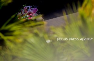 Esteban Ocon of French and Force India Team driver goes during the qualification at Grand Prix de Monaco on May 26, 2018 in Monte Carlo, Monaco.