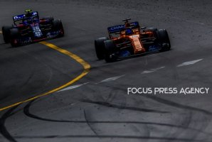 Fernando Alonso of Spain and McLaren F1 Team driver goes during the race on Formula 1 Grand Prix de Monaco on May 27, 2018 in Monte Carlo, Monaco.
