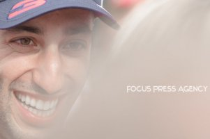 Daniel Ricciardo of Australia and Red Bull Racing driver gives an interview after his victory on Formula 1 Grand Prix de Monaco on May 27, 2018 in Monte Carlo, Monaco.