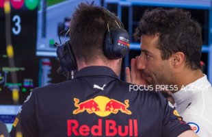 Daniel Ricciardo of Australia and Red Bull Racing driver before the qualification at Austrian Formula One Grand Prix on Jun 30, 2018 in Red Bull Ring, Spielberg, Austria.