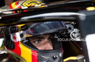 Carlos Sainz of Spain and Renault F1 Team driver before the qualification at Austrian Formula One Grand Prix on Jun 30, 2018 in Red Bull Ring, Spielberg, Austria.