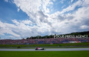 Marcus Ericsson of Sweden and Alfa Romeo Sauber F1 Team driver goes during the qualification at Austrian Formula One Grand Prix on Jun 30, 2018 in Red Bull Ring, Spielberg, Austria.