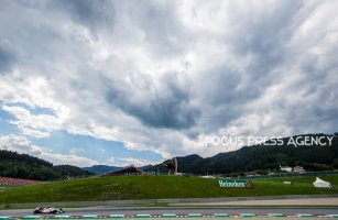 Charles Leclerc of Monte-Carlo and Alfa Romeo Sauber F1 Team driver goes during the qualification at Austrian Formula One Grand Prix on Jun 30, 2018 in Red Bull Ring, Spielberg, Austria.