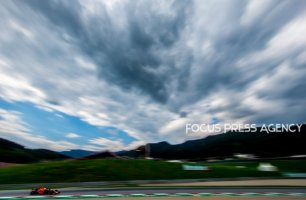 Max Verstappen of Netherland and Red Bull Racing driver goes during the qualification at Austrian Formula One Grand Prix on Jun 30, 2018 in Red Bull Ring, Spielberg, Austria.