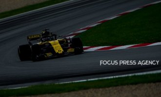Nico Hulkenberg of Germany and Renault F1 Team driver goes during the qualification at Austrian Formula One Grand Prix on Jun 30, 2018 in Red Bull Ring, Spielberg, Austria.