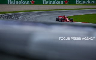 Kimi Räikkönen of Finland and Scuderia Ferrari driver goes during the qualification at Austrian Formula One Grand Prix on Jun 30, 2018 in Red Bull Ring, Spielberg, Austria.