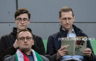 Mihály Varga finance minister before the Hungary and Croatia European Qualifying match at Groupama stadium on March 24, 2019 in Budapest, Hungary.