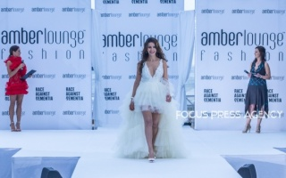 Ladies of F1 presents the creations of Yolancris at the Amber Lounge Charity Fashion Show 2019 in Monte-Carlo, Monaco.