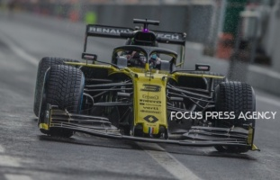 Daniel Ricciardo of Australia and Renault F1 Team driver during the practice session on Formula 1 Gran Premio Heineken on Sept 06, 2019 in Monza, Italy.