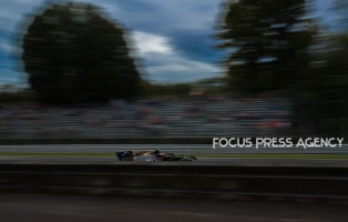 Kevin Magnussen of Denmark and Haas F1 Team driver goes during the practice session on Formula 1 Gran Premio Heineken on Sept 06, 2019 in Monza, Italy.