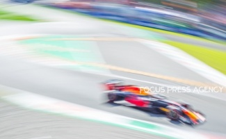 Max Verstappen of Netherland and Red Bull Racing driver goes during the race at Formula 1 Gran Premio Heineken on Sept 08, 2019 in Monza, Italy.