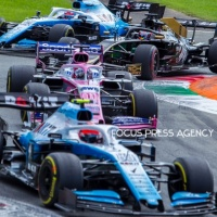 Sergio Perez of Mexico and Racing Point driver goes during the race at Formula 1 Gran Premio Heineken on Sept 08, 2019 in Monza, Italy.